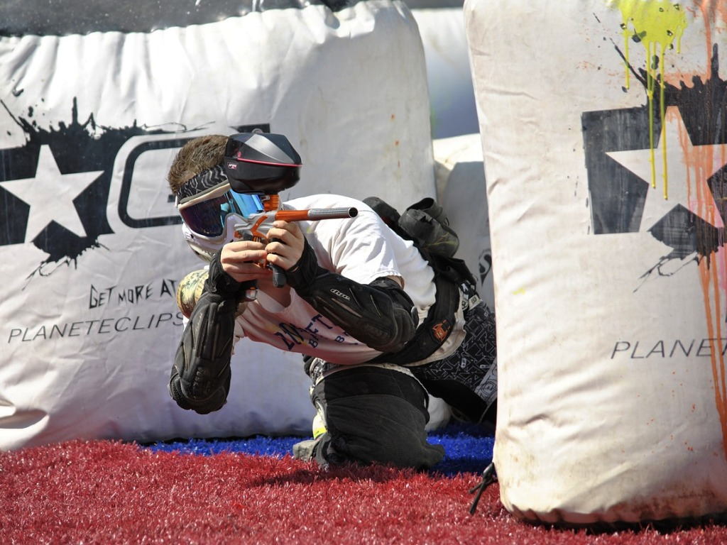 Some ways to play a Paintball Game